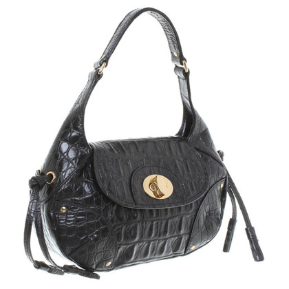 Car Shoe Borsa piccola in nero
