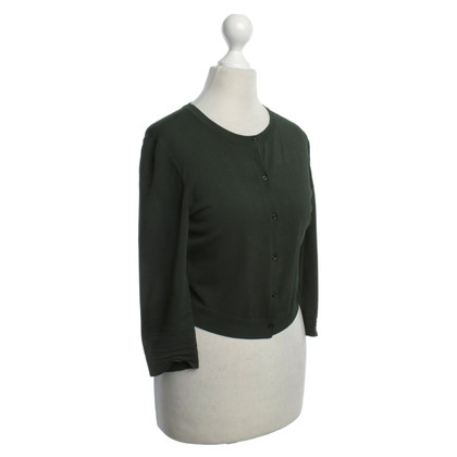 Alaïa Bolero in olive green