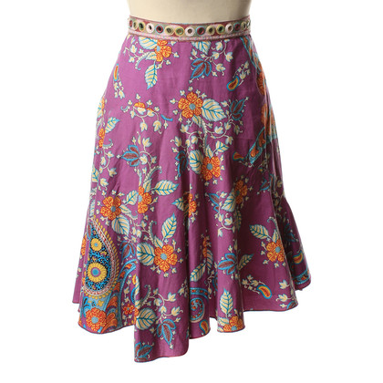 Blumarine skirt with Paisley pattern