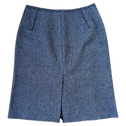 Prada skirt wool-mohair mix