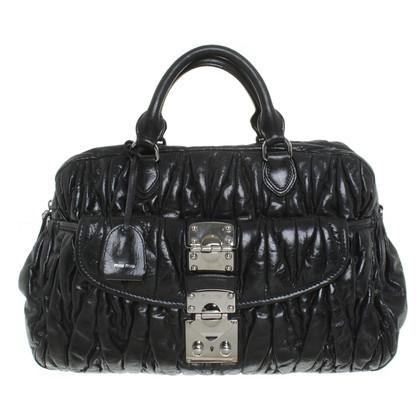 Miu Miu Leather bag in black