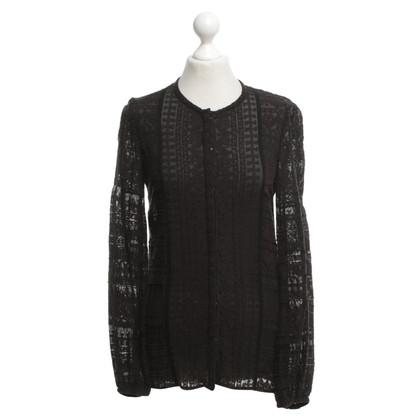 Isabel Marant Etoile blouse zwart