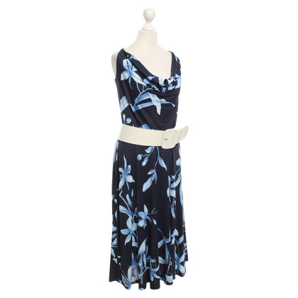 Escada Dress with floral pattern