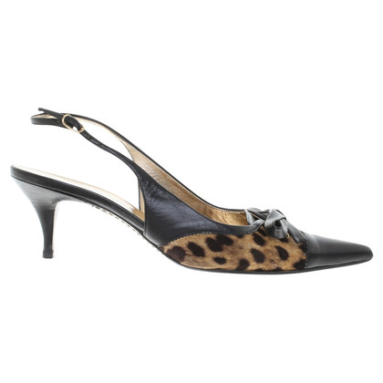 Dolce & Gabbana Slingback pumps with Animal Design