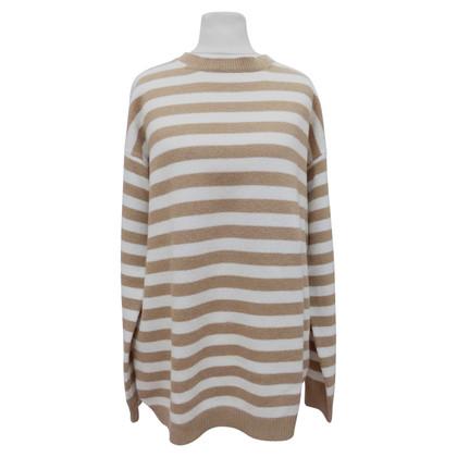 Prada lungo maglione a righe orizzontali