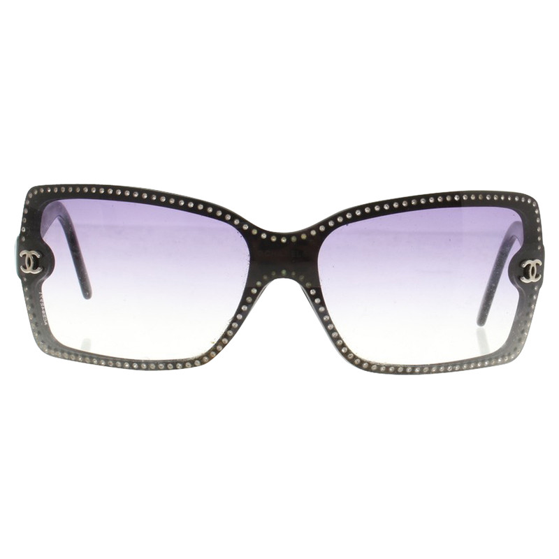 chanel sunglasses  Chanel Sunglasses in Black - Buy Second hand Chanel Sunglasses in ...