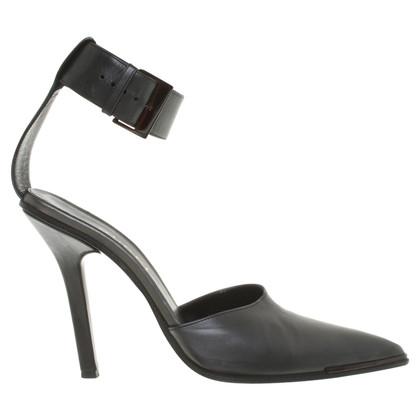 Gucci pumps in grigio scuro
