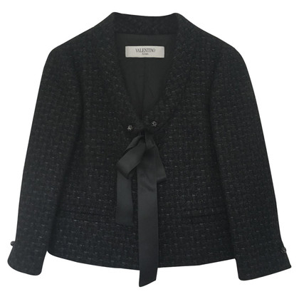Valentino Black tweed jacket