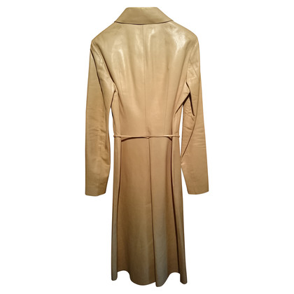 Gucci Leather coat in beige