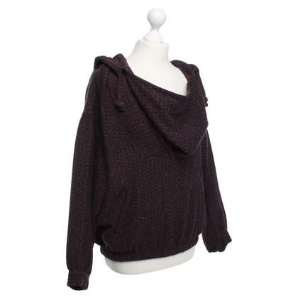 Isabel Marant Short sweater in purple