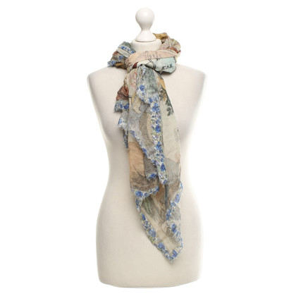 Faliero Sarti Scarf with pattern