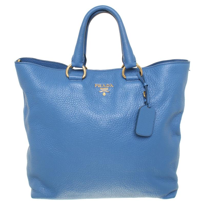 Prada Handtasche Blau