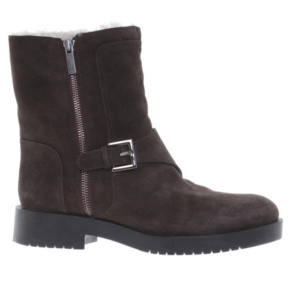 Jil Sander Ankle boots in Brown