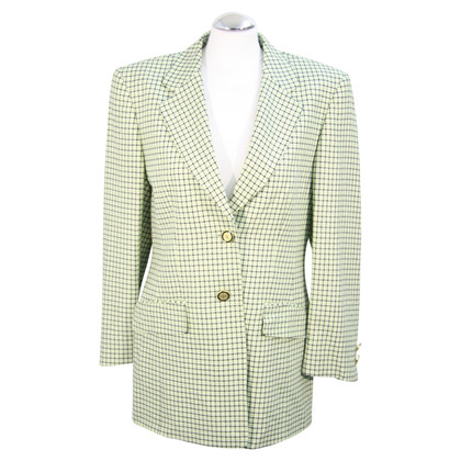Basler Checked jacket in green