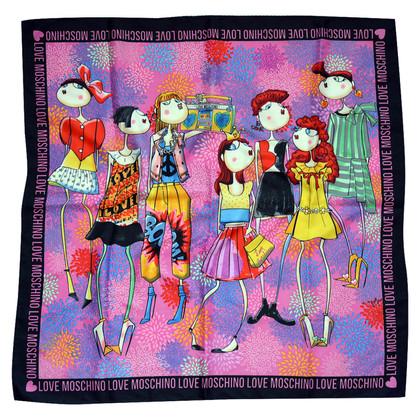 Moschino Love Silk scarf