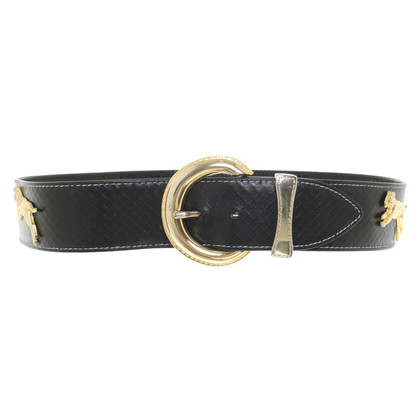 Escada Belt with gold-colored application