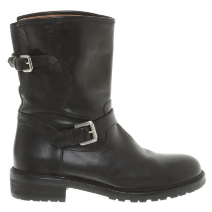 Marc Cain Biker Boots in Black