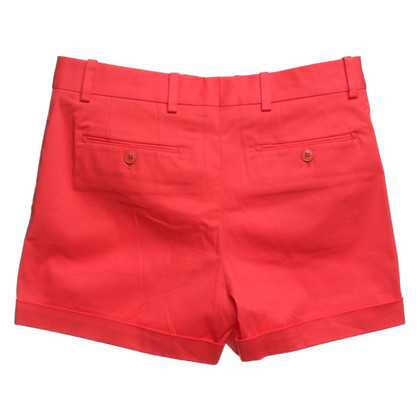Loro Piana Shorts in coral red