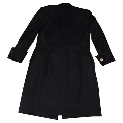 Max Mara Vintage coat in black