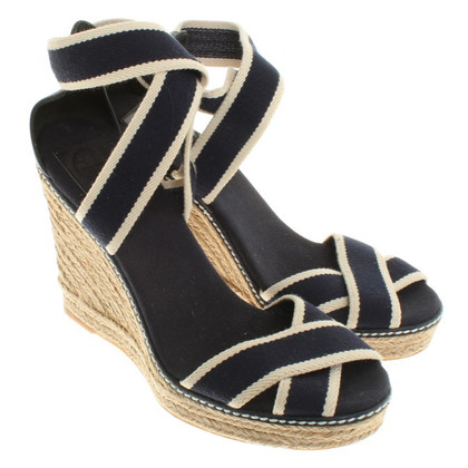 Tory Burch Wedges in blue