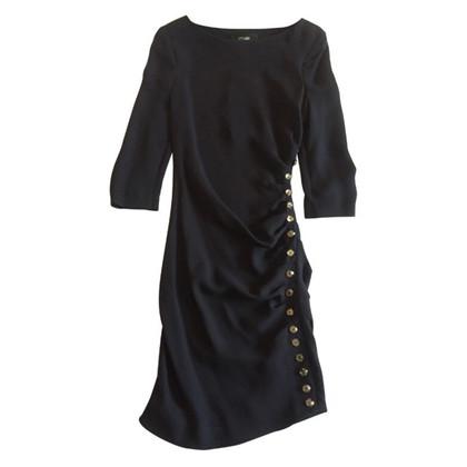 Azzaro Robe bleue en soie