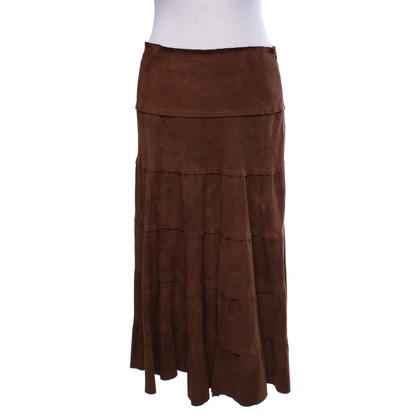 Parosh Suede skirt