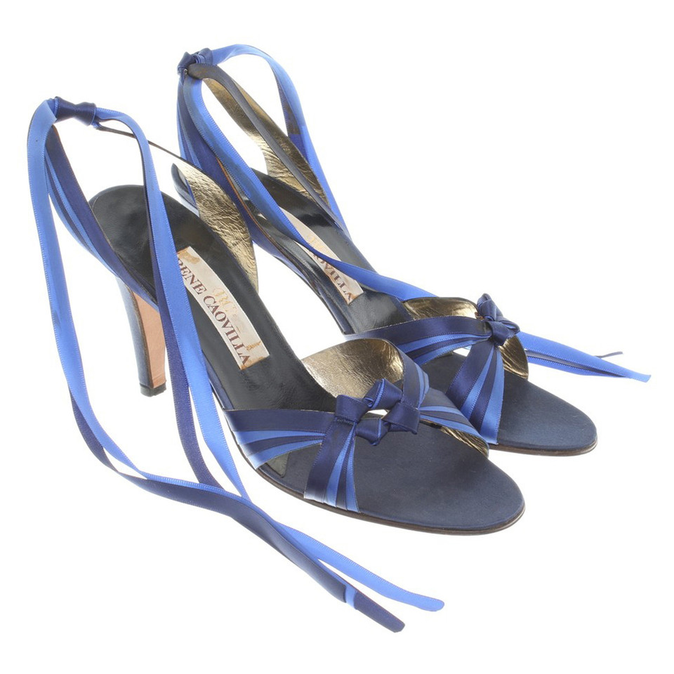 René Caovilla Sandals in blue