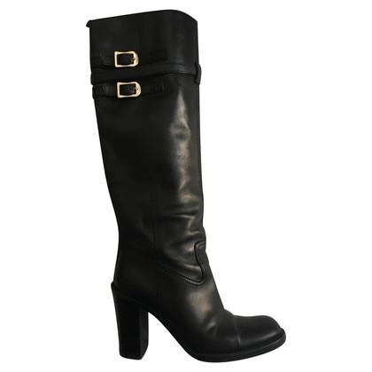 Gucci Gucci leather boots black