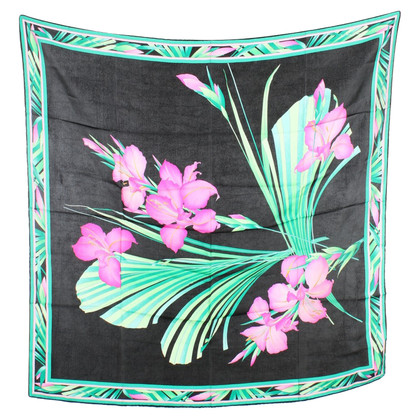 Leonard Seidentuch mit floralem Print