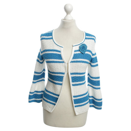 Marc Cain Jacket with striped pattern