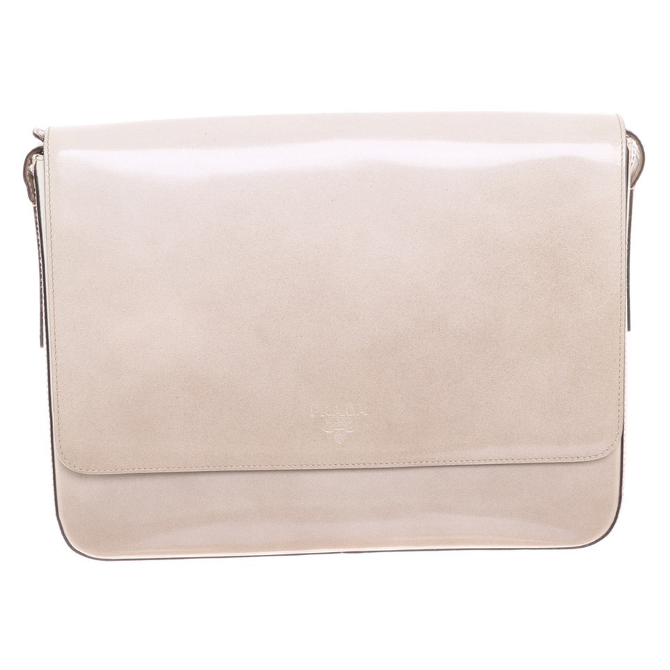 6b25eb0a0677 Prada Shoulder bag in cream - Buy Second hand Prada Shoulder bag in cream  for €