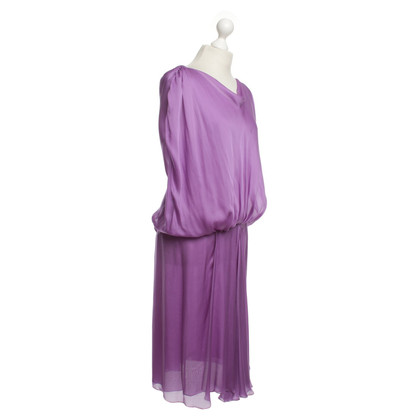 Alberta Ferretti violet chiffon