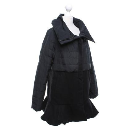 Moncler Manteau en noir
