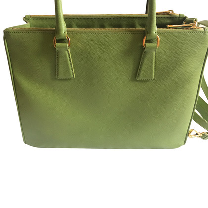 Prada  Saffiano leather bag Galleria