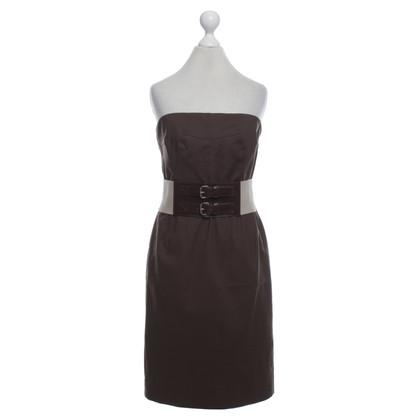 Michael Kors Bandeau dress in brown