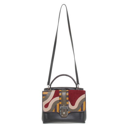 Paula Cademartori Handbag in patchwork look