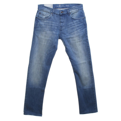 "7 For All Mankind Jeans ""Chad"" in Blau"