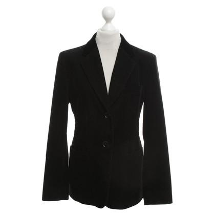 Max Mara Corduroy blazer in black