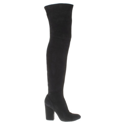 Bally Overknees in nero