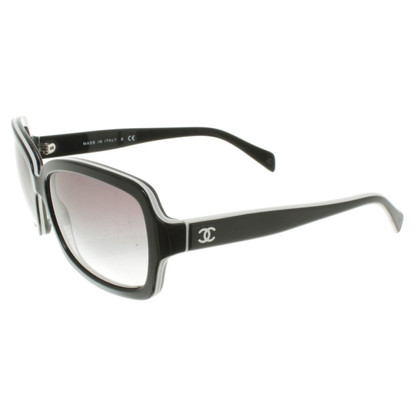 Chanel Sunglasses in black and white
