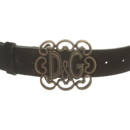 D&G Cintura in nero