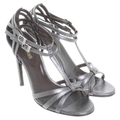 Roberto Cavalli Zilveren sandalen