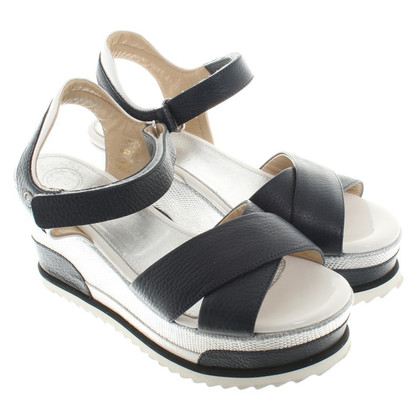 Bogner Sandaletten mit Plateausohle