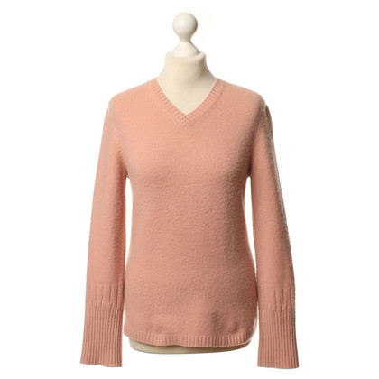 Jil Sander Cashmere sweaters in dusty pink