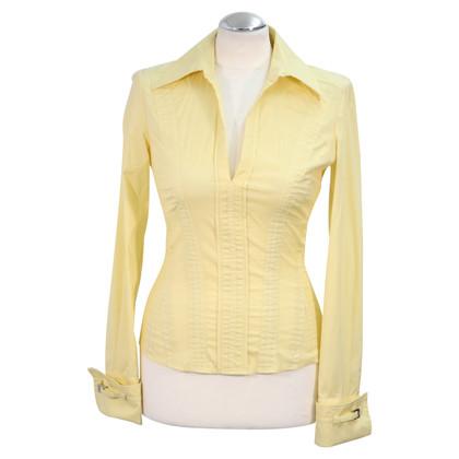 Karen Millen Bluse in Gelb