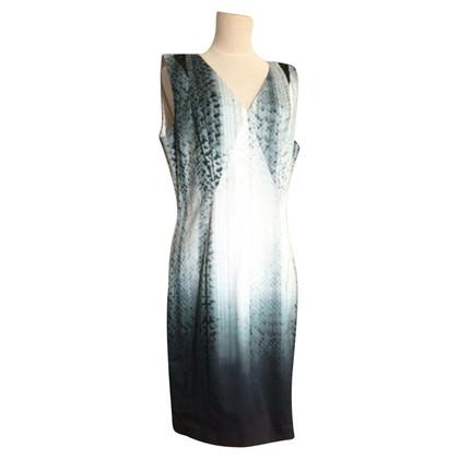 Elie Tahari Python-print dress