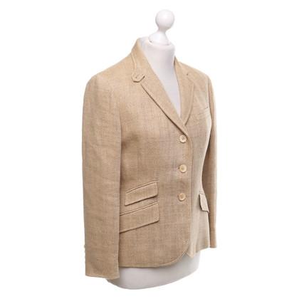 Ralph Lauren Blazer in beige-bruin