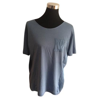 Stefanel Jean camicia blu