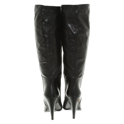 73905e5c8 Gucci Boots in black - Second Hand Gucci Boots in black buy used for ...
