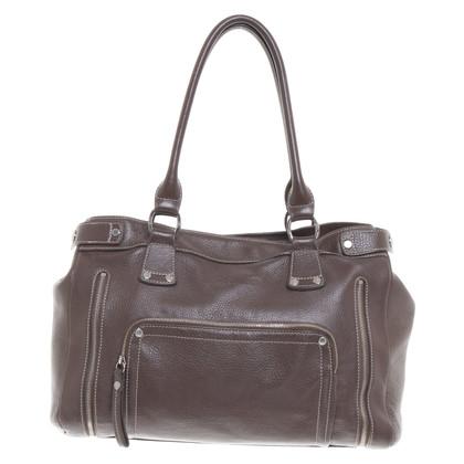Longchamp Handtasche in Braun